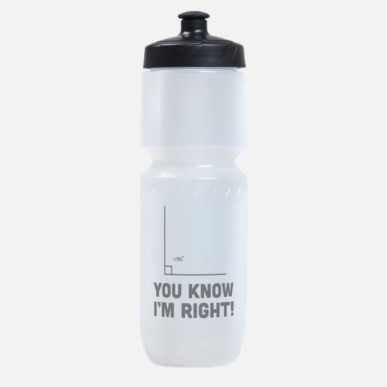 You know i'm right Sports Bottle