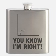 You know i'm right Flask