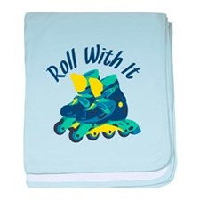 Roll With It baby blanket