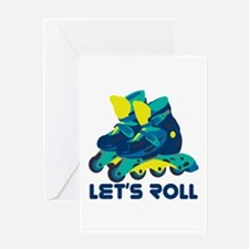 Let's Roll Greeting Cards