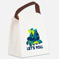 Let's Roll Canvas Lunch Bag