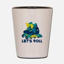 Let's Roll Shot Glass