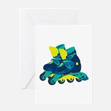 Roller Blades Greeting Cards