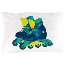 Roller Blades Pillow Case