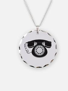 Retro Telephone Necklace