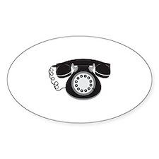 Retro Telephone Decal
