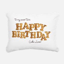 Cute Dessert and candy Rectangular Canvas Pillow