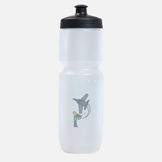 RC Airplane Sports Bottle