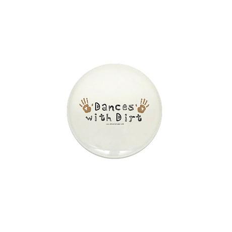 Dances with Dirt Mini Button (100 pack)