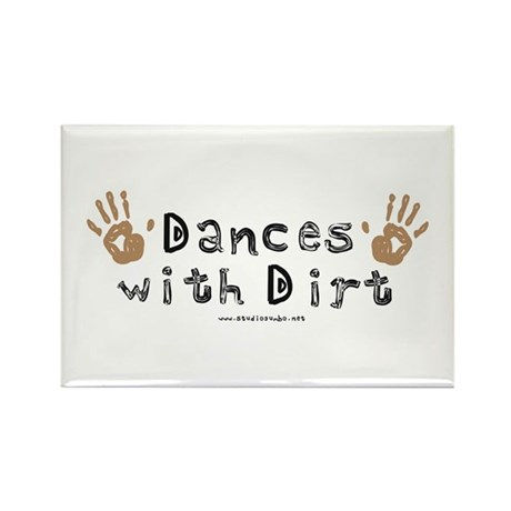 Dances with Dirt Rectangle Magnet (100 pack)