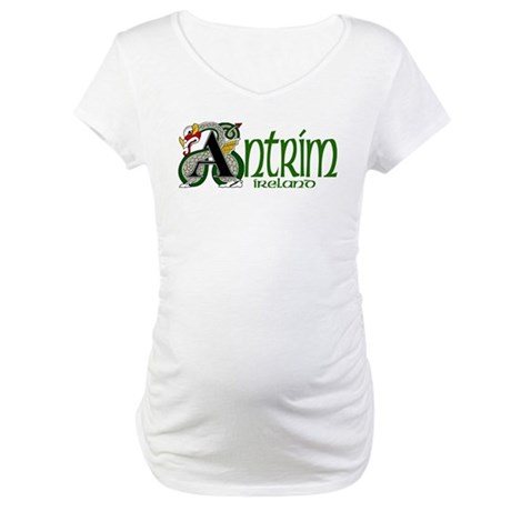 County Antrim Maternity T-Shirt