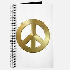 Cute Metallic gold Journal