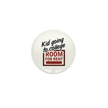 Room for Rent Kid in College Mini Button (10 pack)