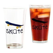 Skate Drinking Glass