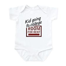 Room for Rent Kid in College Infant Bodysuit