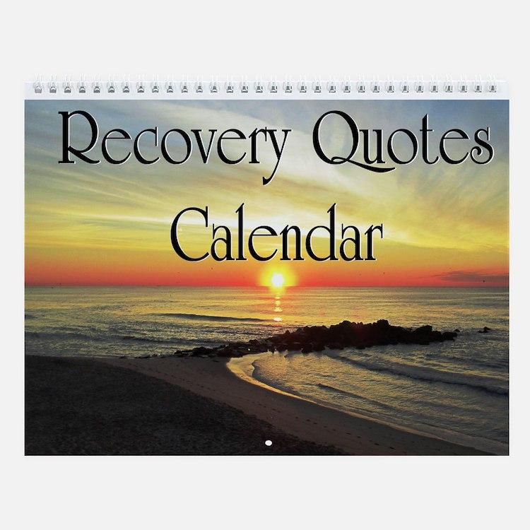 Sun Rise Recovery Wall Calendar