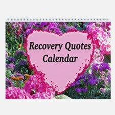 Flowers Recovery Wall Calendar