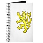 Heraldic Gold Lion Journal
