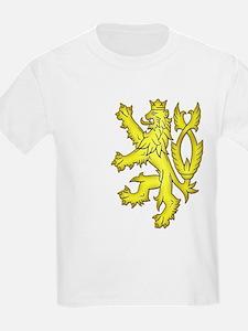 Heraldic Gold Lion T-Shirt