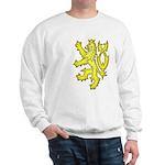 Heraldic Gold Lion Sweatshirt