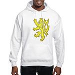 Heraldic Gold Lion Hooded Sweatshirt