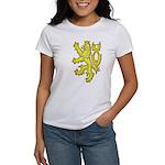 Heraldic Gold Lion Women's T-Shirt
