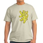 Heraldic Gold Lion Light T-Shirt
