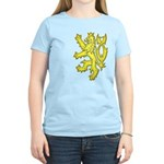 Heraldic Gold Lion Women's Light T-Shirt