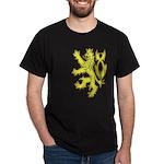 Heraldic Gold Lion Dark T-Shirt