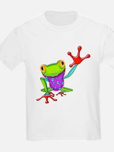Waving Poison Dart Frog T-Shirt