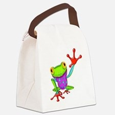 Funny Reptile Canvas Lunch Bag