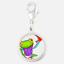 Waving Poison Dart Frog Charms
