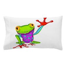 Unique Frog Pillow Case