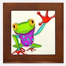Unique Reptiles Framed Tile