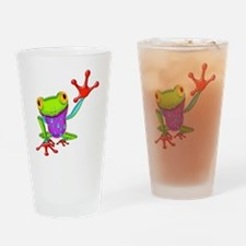 Funny Amphibians Drinking Glass