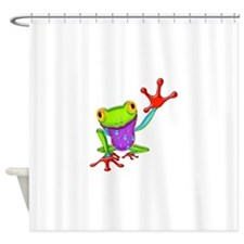 Cute Amphibians and reptiles Shower Curtain
