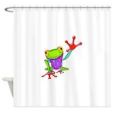 Unique Toads Shower Curtain