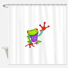 Cute Reptile Shower Curtain