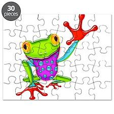 Unique Frog Puzzle