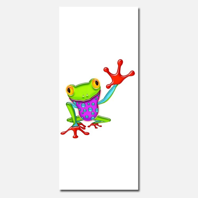Waving Poison Dart Frog Invitations