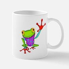 Waving Poison Dart Frog Mugs