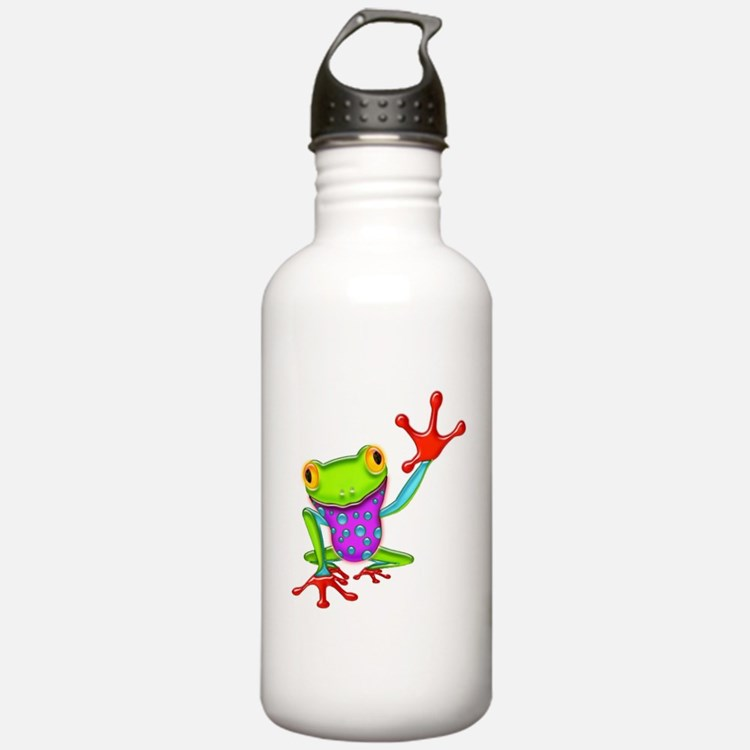 Cute Amphibians and reptiles Water Bottle