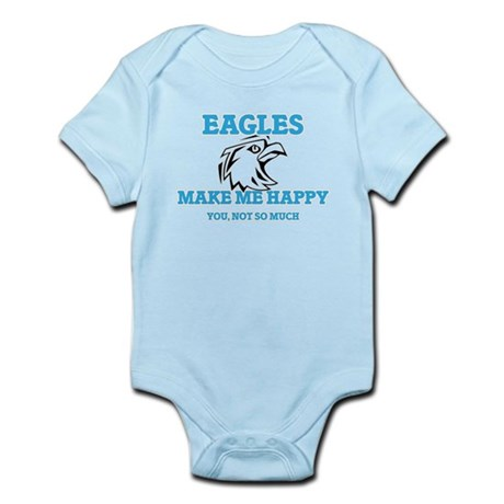 Eagles Make Me Happy Body Suit