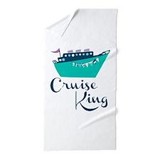 Cruise King Beach Towel