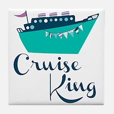 Cruise King Tile Coaster