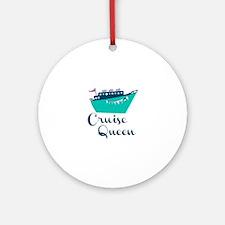 Cruise Queen Ornament (Round)