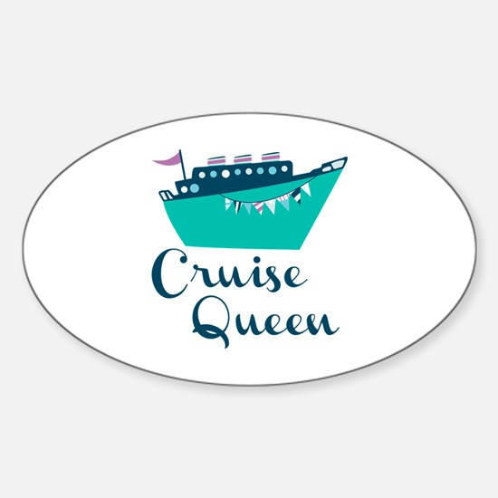 Cruise Queen Decal
