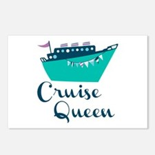 Cruise Queen Postcards (Package of 8)