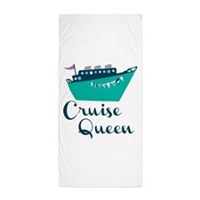 Cruise Queen Beach Towel