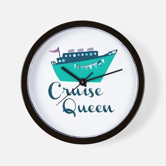 Cruise Queen Wall Clock